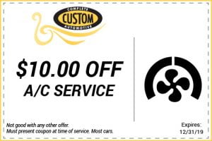 car air conditioning service coupon