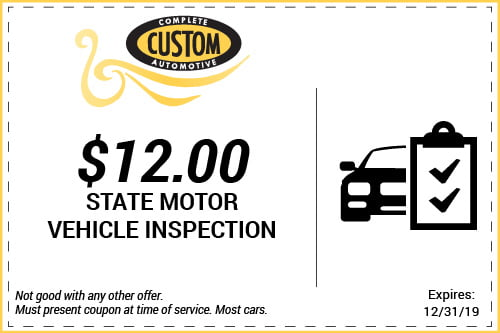 State Inspection Coupon >> Coupons