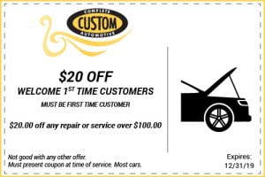 first time customer coupon