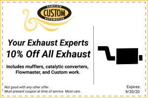10 Percent off Exhaust