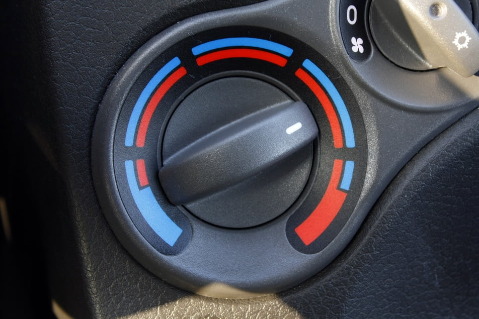 car heater functioning properly after maintenance repair