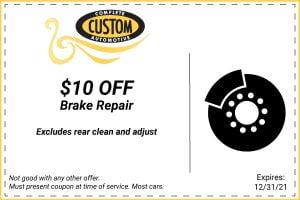 brake repair coupon