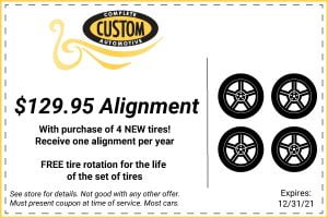 Discounted Alignment Coupon