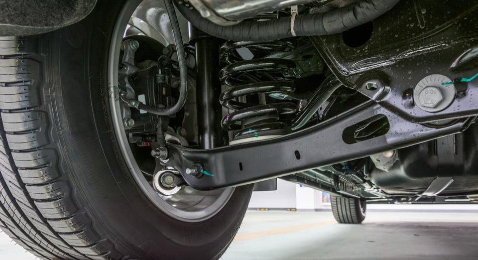 shocks/struts replaced on vehicle